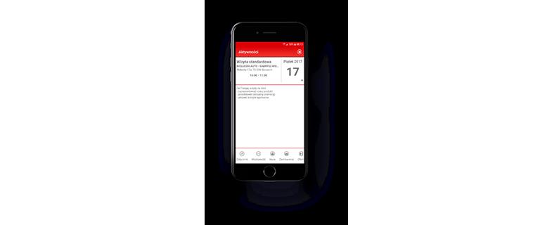podgląd aplikacji mobilnej EMP - system zarzązania sprzedażą i spotkaniami handlowców