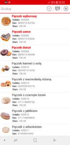 Lista produktów - EMP Mobile
